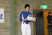 大中山野球スポーツ少年団 代表のスピーチの写真